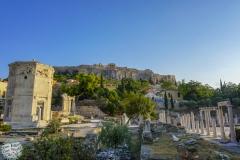 Ruinen in Athen