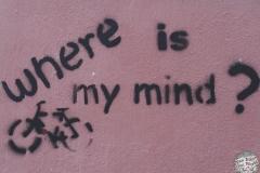 Wandbild in der Stadt