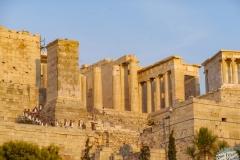 Akropolis von Athen Wachablösung