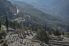 Blick über Delphi