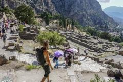 Eine Horde von Asiaten in Delphi
