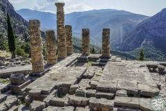 Der Tempel von Apollo