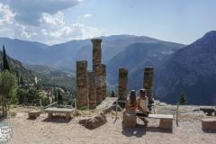 Der Tempel von Apollo und wir