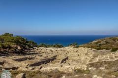 Ruinen auf Rhodos