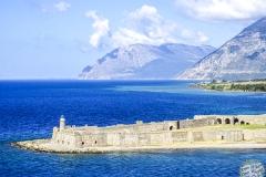 Ein Burg am anderen Ufer
