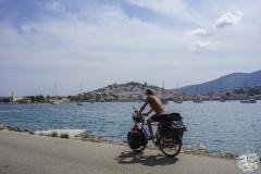 Zurück nach Poros Stadt