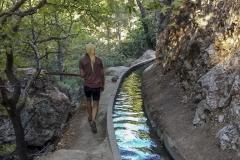 Entlang vom Wasserkanal