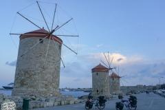 Am Hafen der Altstadt von Rhodos