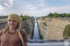 Kanal von Korinth Gnubbi