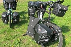 Bikepacking Bikes mit MSX Taschen