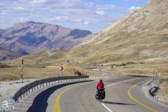 Über die Berge auf dem Weg zu Schwarzmeerküste