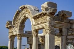 Die Ruinen von Efesus