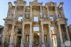 Die alte Bibliothek von Efesus