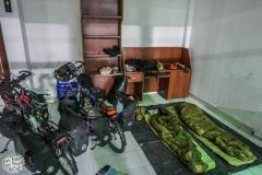 Unser erste Tankstellen Schlafplatz