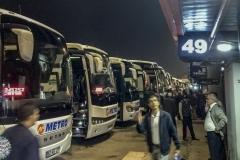 Am Busbahnhof von Istanbul