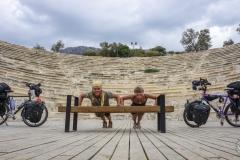 Im Amphitheater von Kaş