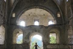 Eine verlassene Kirche
