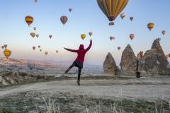Der Tanz mit den Ballons