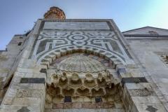 Kurz vor den Ruinen von Pergamon noch schnell eine Moschee bewundern