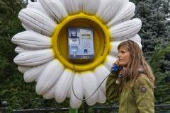 einer der vielen lustigen Telefone der Türkei