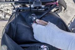 Schäden von Gnubbis Unfall
