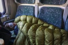 Eine herrliche Nacht im Zug Richtung Erzurum