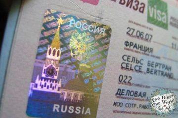 Wie beantrage ich ein Russlandvisum - Fahrradweltreise - 2 Bikes 1 World - Two Bikes One World