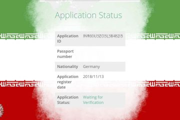 Iran Visa Header